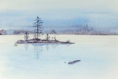 087 - Verstild landschap