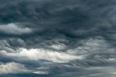 Plaatselijke regenbui